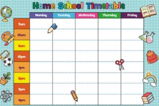 Home School Timetable(2)